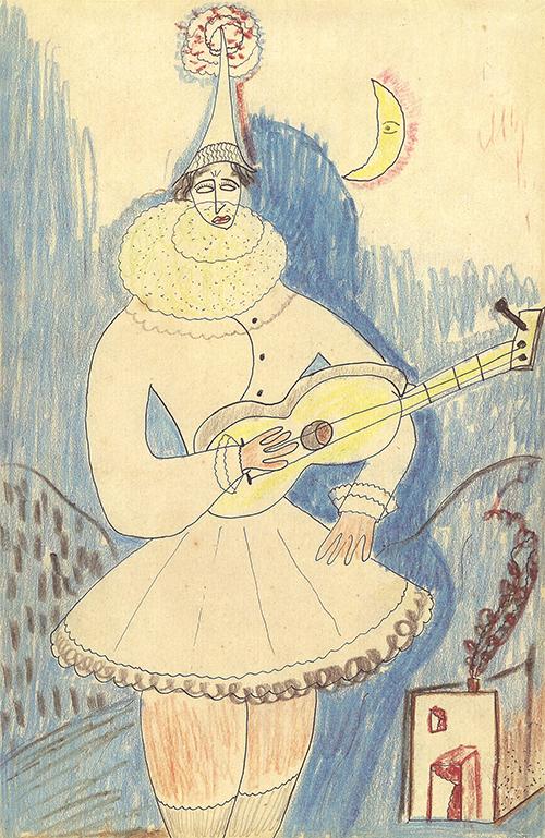 dessin de Federico G. Lorca (gentillesse Fondation FGL)